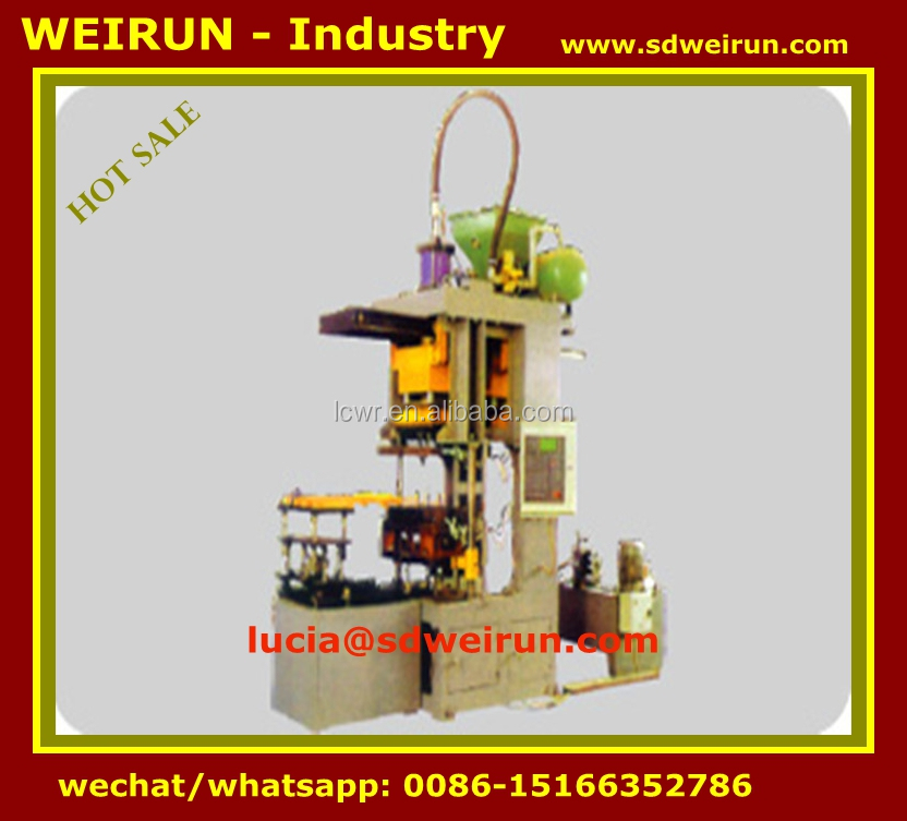 horizontal parting sand core shooter machine for foundry
