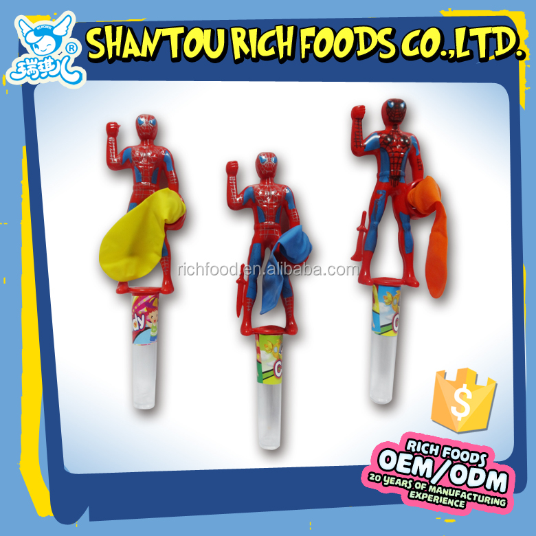 spider toy candy boy toy candy cartoon toy candy
