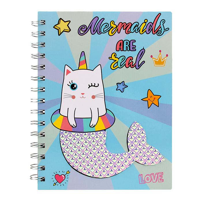Licheng LK449 Novelty Notebook, Personalised Hardcover DIY Notebook Spiral