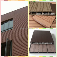 exterior wall cladding /wpc siding/wood plastic composite siding