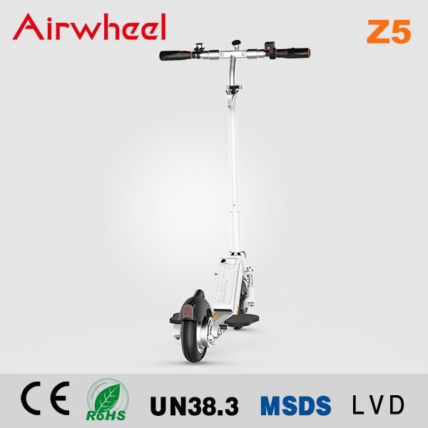 Z5 Airwheel foldable 2 wheel electric standing scooter 350w