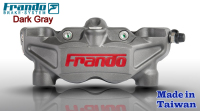 Frando high performance 108 mm 4 Pistons Motorcycle radial racing brake caliper Made in Taiwan