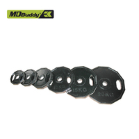 Gym use weight plate made of cast iron with high quality