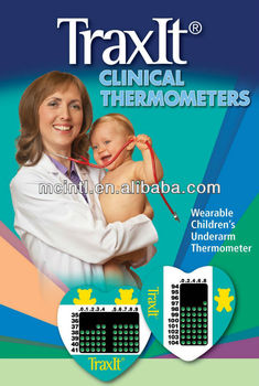 TraxIt Disposable Clinical Thermometer