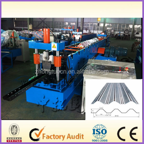 galvanized trench type cable duct laminating press