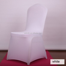 Factory wholeslale cheap spandex stretch polyester wedding chair cover