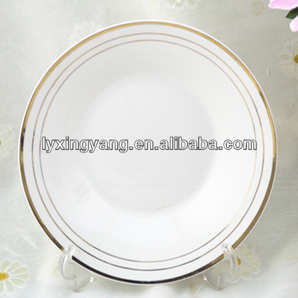 gold plated dish