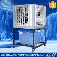 PVC water pipe workshop air cooler with portable wheels and nice design