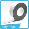 Easy stick high tensile strength round butyl sealant tape