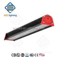 UL&DLC list 120W linear LED warehouse light high bay/low bay fixture,special design for warehouse,5 year warranty