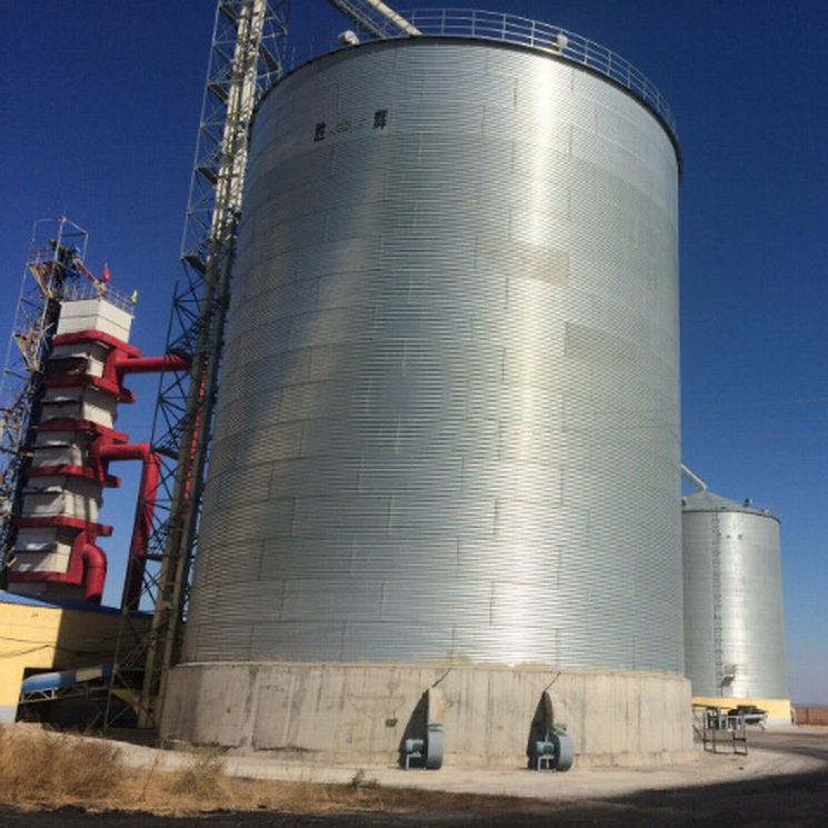 Good price 5000ton galvanized grain silo storage for sale