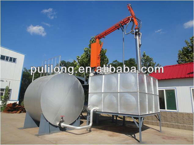 oil tank used for automatic train unloading installation