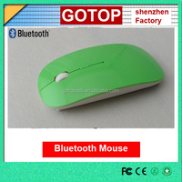 China factory super slim 2.4GHz wireless bluetooth mous mini ultrathin USB optical mouse electronic gift for PC