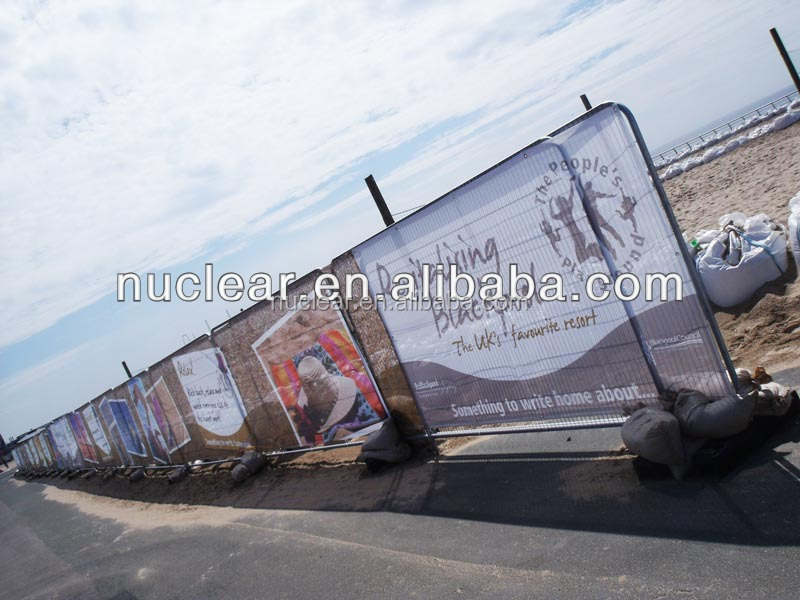 promotional advertising fence mesh banner for marketing