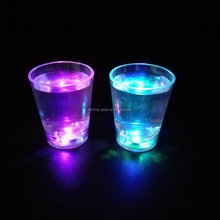 Led flashing shot glass 2OZ