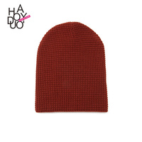 HAODUOYI Women Winter Knit Hat Casual Style Warm Beanie Caps for Wholesale