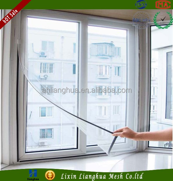 Wholesale Magnetic Unbreakable Soundproof Window Screen With Cheap Price And High