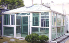 Garden Sunroom with Laminated Glass/swimming pool glass house