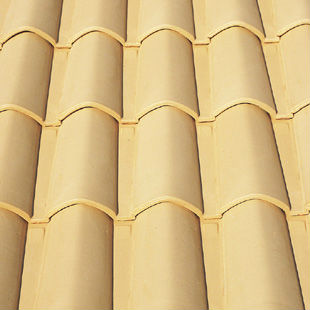 "Spanish Waterproof, ""Dune"", ""Mixed"", roman ceramic roof tile, made of clay"