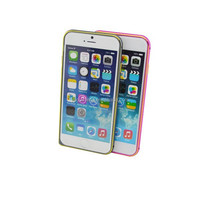 Popular aluminium bumper smart phone case for iPhone 6