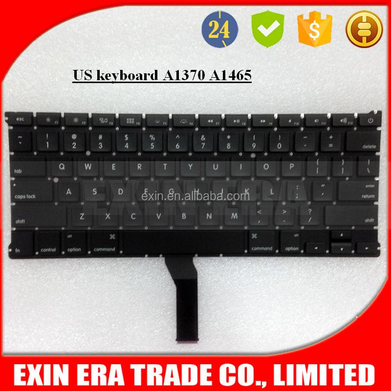 "Sales in Bulk , New For Macbook Air 11"" A1370 A1465 Keyboard US UK French Spanish Russian German Etc Layout Keyboard"