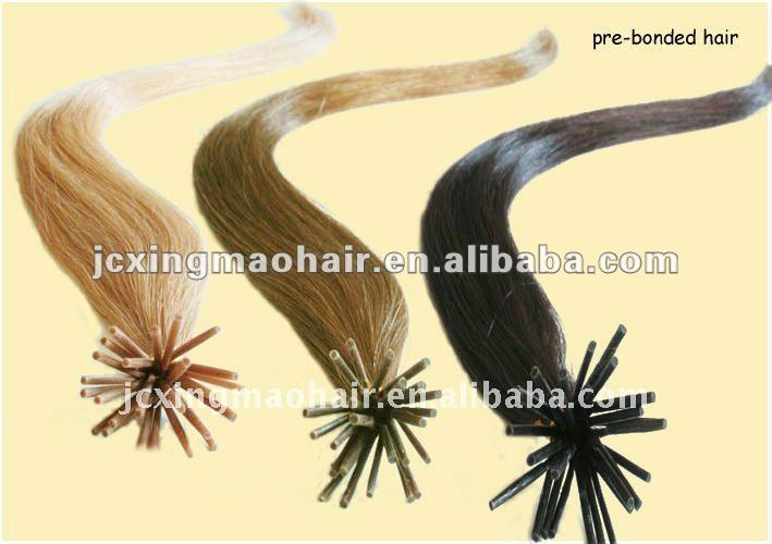 Colorful Straight Wave I-tip Human chaoba hair