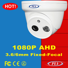 CCTV security system 2.0 megapixel two Array LEDs 1080p with ir cut night vision rohs conform camera