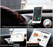 2015 New Mobile Phone Ring Grip with car hook simplest Universal 360 degree phone mount in car