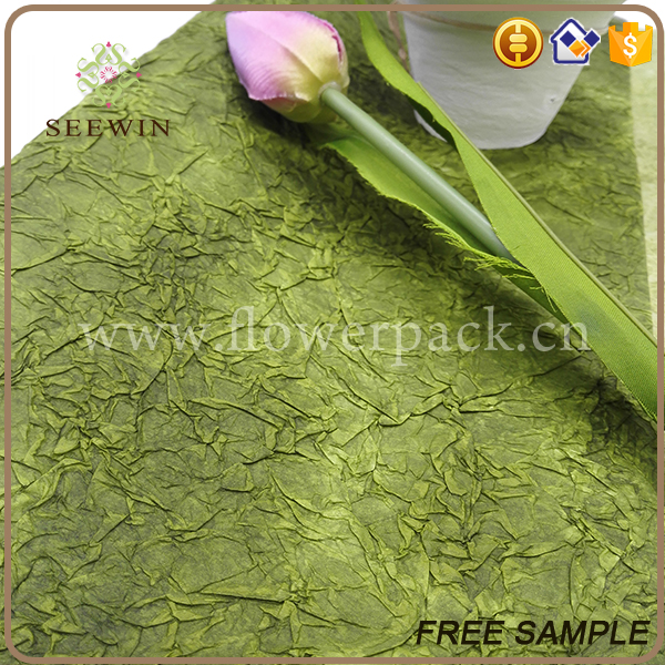 new design new material eco-friendly flower wrap paper