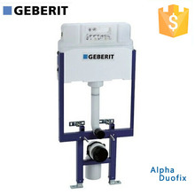 GEBERIT Alpha Duofix In-wall Cistern Watermark Concealed Cistern for Wall-hung Toilet, Dual Flush Front Button