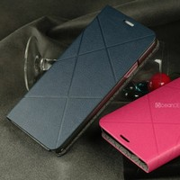 Unique designer leather stand case for samsung galaxy note 3 cute case
