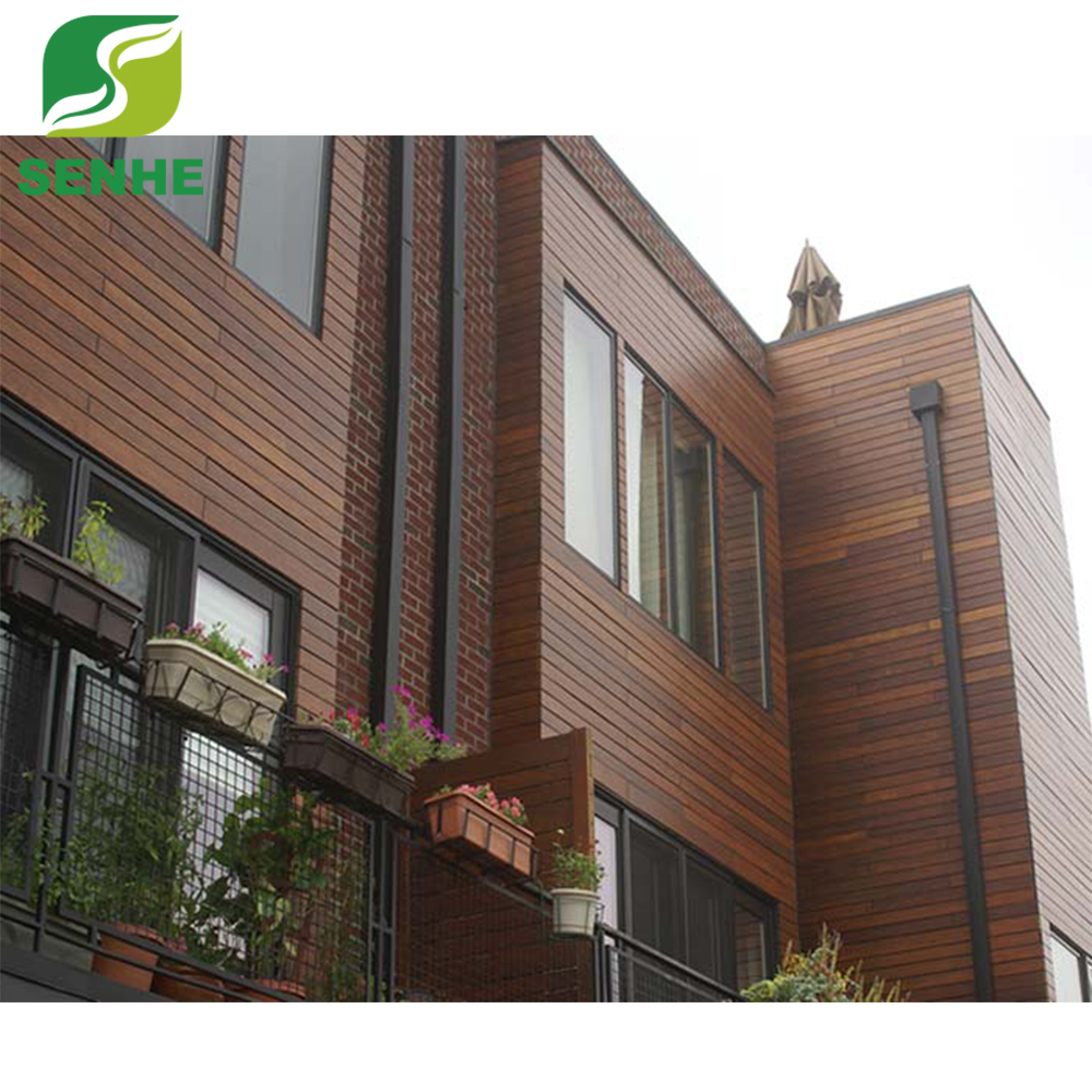 High quality bamboo commercial panel exterior wall cladding