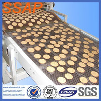 INOX AISI manufacture stainless steel food industry conveyor belt