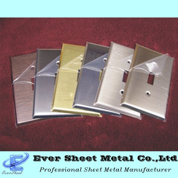 High quality electric sheet metal socket cover outlet boxes