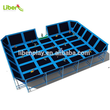 LE.BC.056 Inflatable Size Cheap Square Gymnastic Rectangle trampoline for Children