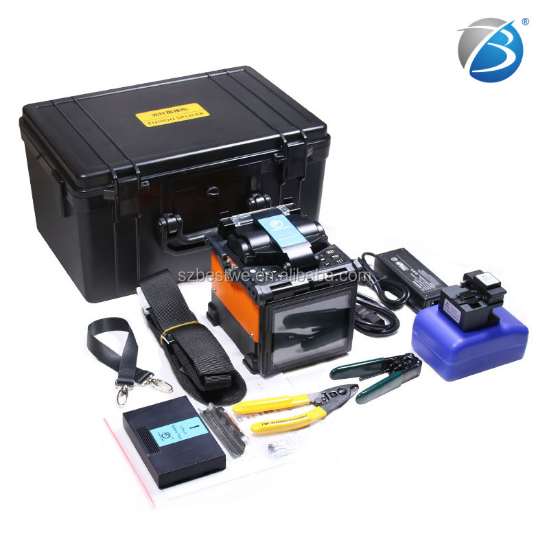 Factory price Fiber fusion splicer FTTH Machine multi-language comway <strong>c10</strong> sumitomo type Japan motor <strong>China</strong> suppliers