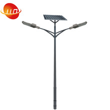 double arm high mast pole nice price of 15W-120W 5years warranty outdoor garden led lighting solar power street light