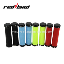 Colorful locking bike hand bar grips bicycle grips
