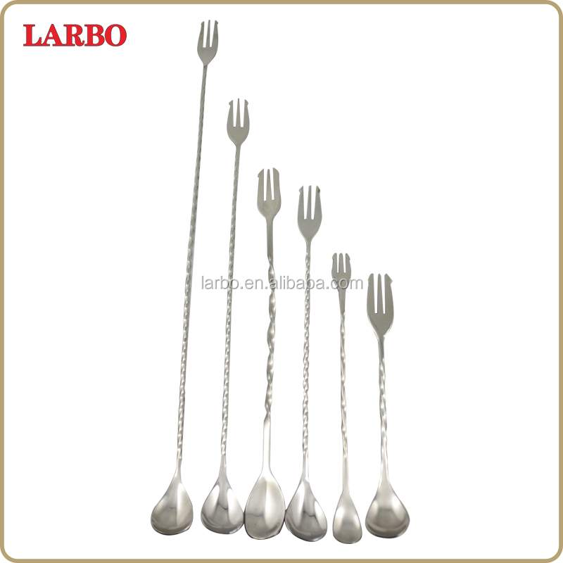 12 Inch stainless Steel drop bar Spoon