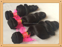 2015 Wholesale Natural Black Human Hair Extension Different Types of Curly Weave Hair