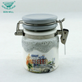 Hot selling airtight enamel canister for kitchen