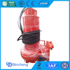 Submersible sewage industrial pumps