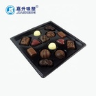 Hot Sale Factory Custom Plastic Cookies Praline Chocolate Boxes