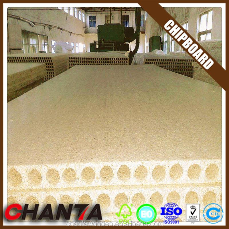 linyi manufacturer tubular chipboard with low price