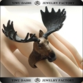 Daihe fashion plastic Elk shaped ring for kids