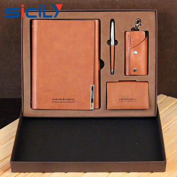 Company annual party corporate classical box pen business gift set