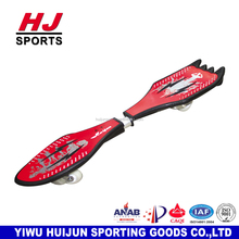 HJ-F071 HUIJUN Good quality Children Adult Land Surf Two Aluminum Wheels Skateboard snake board