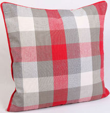 Yarn-dyed Checks with Lurex Cushion Cover
