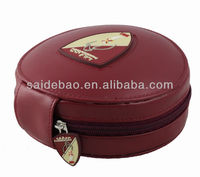 leather CD Holder DVD Case Storage Wallet Disc Organizer, View CD holder