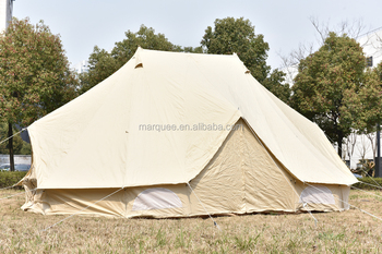 Double poles water proof canvas Emperor bell tent 6x4m & Double Poles Water Proof Canvas Emperor Bell Tent 6x4m - Buy Bell ...